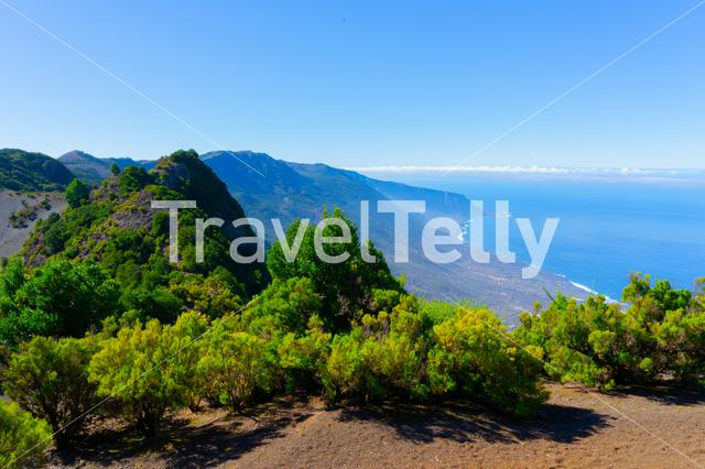 Scenery from the island El Hierro