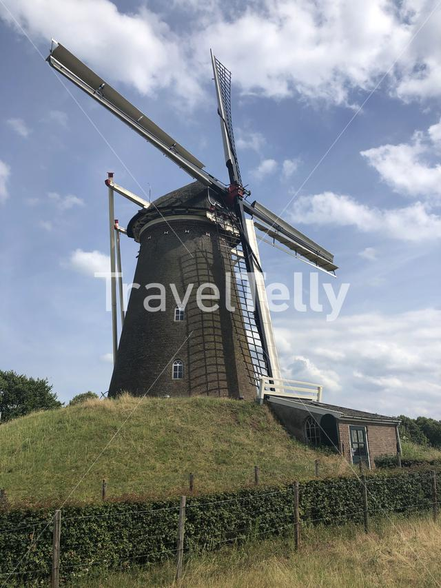 Bronkhorster windmill in The Netherlands