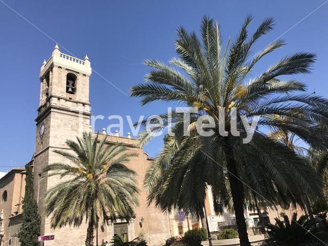 Santa Maria del Mar church in valencia spain