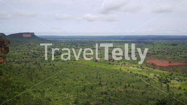 View from the Nok Caves in the north of Togo