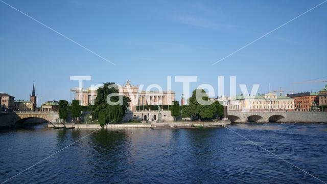 Parliament House In Stockholm Sweden