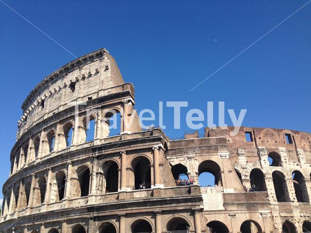 The Colosseum or Coliseum, also known as the Flavian Amphitheatre, is an elliptical amphitheatre in the centre of the city of Rome, Italy