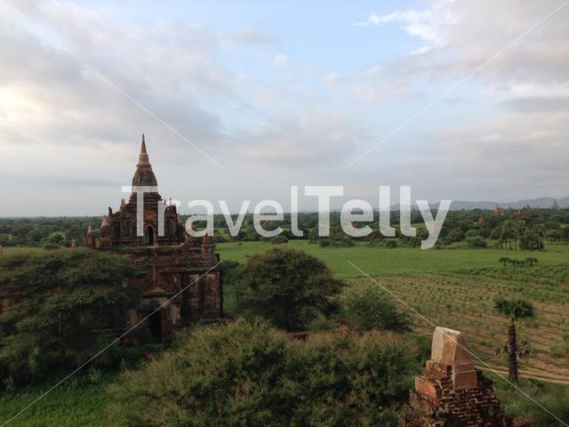 Taung Guni temple in Bagan Myanmar