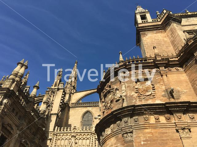 The Seville Cathedral in Spain