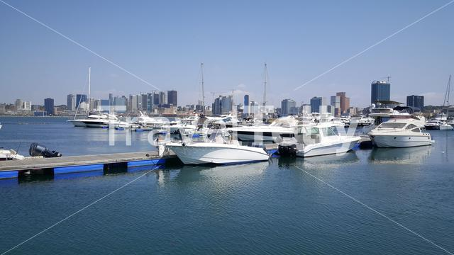 Harbor of Luanda, Angola
