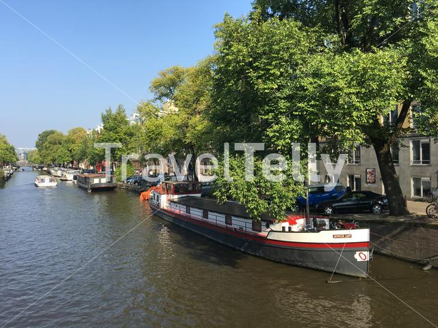 Canal cruise in Amsterdam The Netherlands