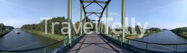 Bridge over the twente canal in The Netherlands