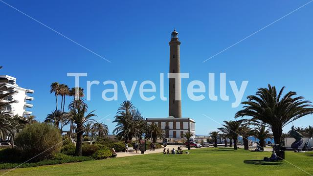 Lighthouse at Maspalomas, Gran Canaria