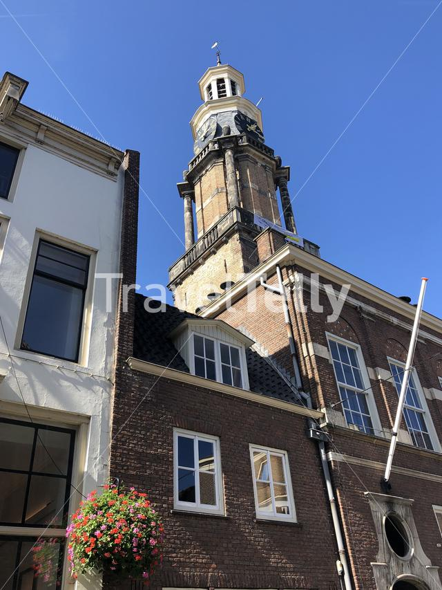 Winehouse tower in Zutphen, Gelderland The Netherlands