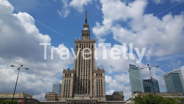The Palace of Culture and Science in Warsaw is the tallest building in Poland and the eighth tallest building in the European Union