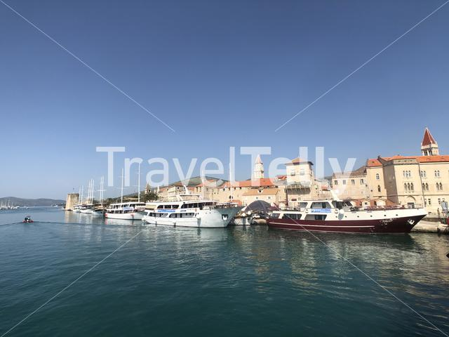 Waterfront in Trogir Croatia