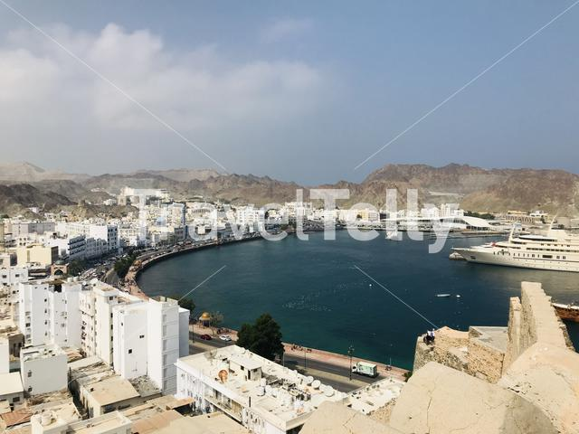 City view off Muscat