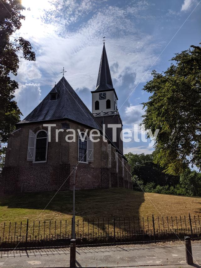 Church in Wolvega, Friesland The Netherlands