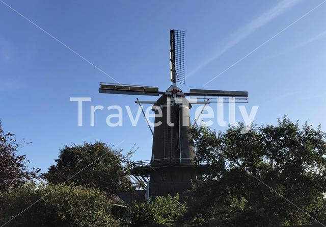 Agneta windmill in Ruurlo, Gelderland The Netherlands