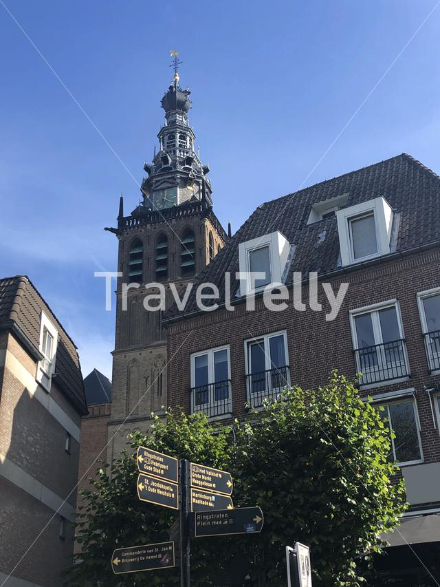 Saint Stephen's church tower in Nijmegen