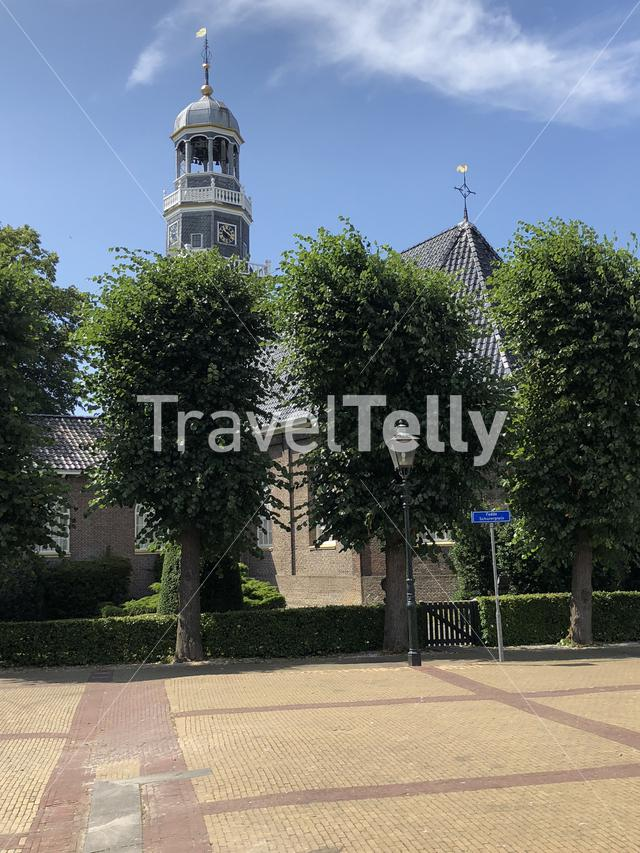 The reformed Church in lemmer, Friesland The Netherlands