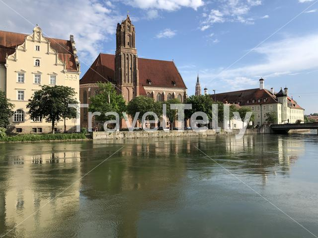 Heilig-Geist-Kirche Landshut church in Germany