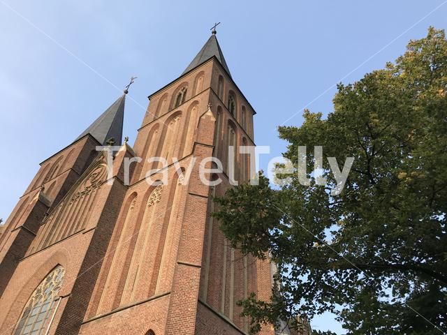 Propstei and Stiftskirche St. Mariä Himmelfahrt church in Kleve Germany