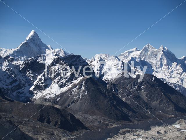 Mount Lhotse in Nepal