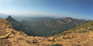 Very famous place in Maharashtra know as lonavala should visit in winter time and Food is available here but at high cost