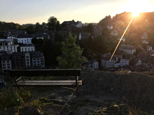 Sunset in Monschau Germany