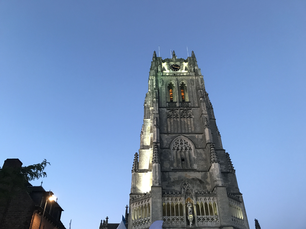 The Old Cathedral of Tongeren in Belgium