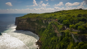 Viewpoint at Uluwatu, Indonesia