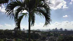 Cebu city view in the Philippines
