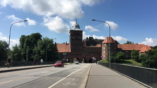 The Burgtor in Lübeck Germany
