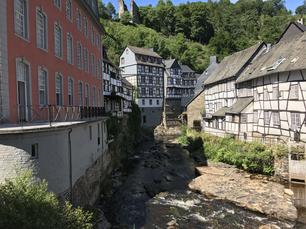 Timberframe houses in Monschau Germany