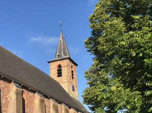 Reformed Church in Anjum, Friesland The Netherlands