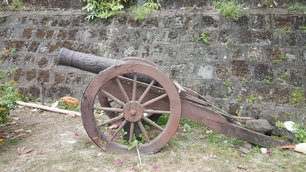 Cannon at 17th century Fort Santa Isabelle in TayTay, Philippines