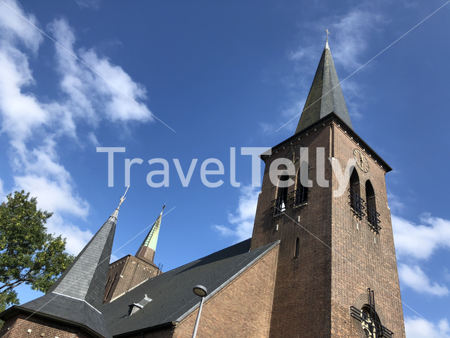 The Parish Church of the Holy Spirit in Heerenveen, Friesland The Netherlands