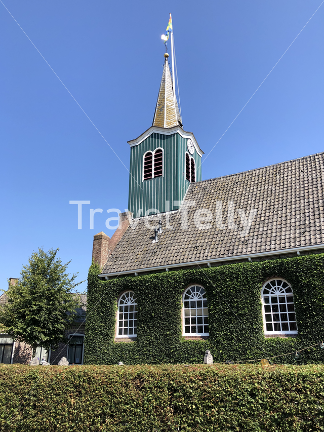 Church in Oudega Friesland The Netherlands