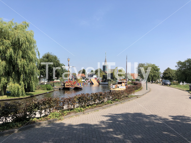 Village party in Oudega, Friesland The Netherlands