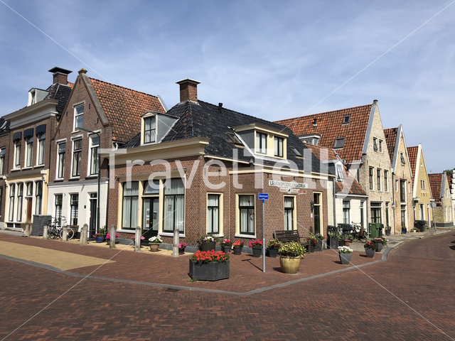 Architecture in Harlingen, Friesland, The Netherlands