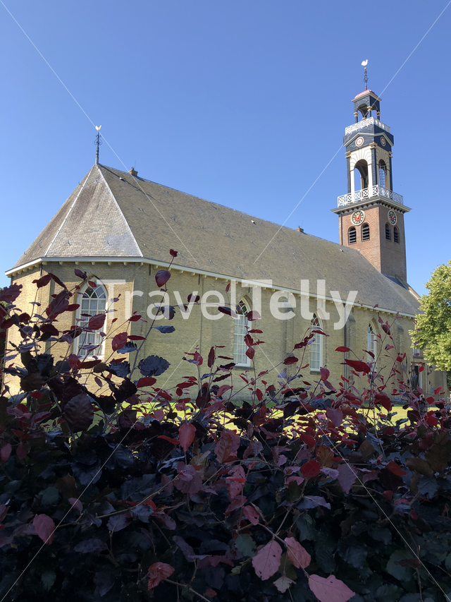 Reformed church in Arum, Friesland The Netherlands